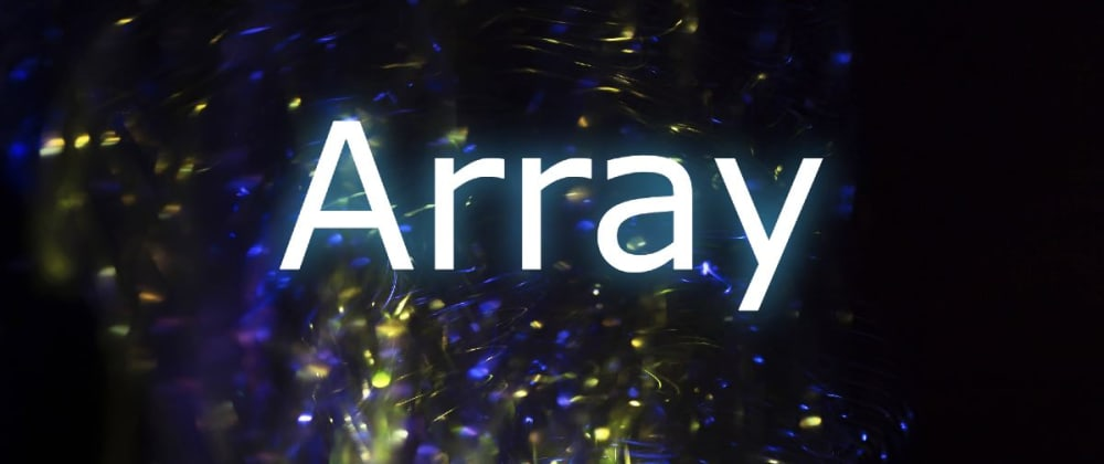 Cover image for The PHP array