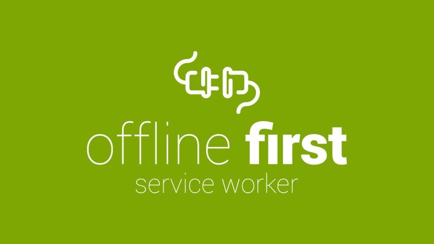 offline first poster