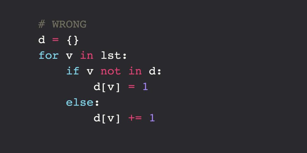 Python Data Structures Idioms - DEV Community 👩 💻👨 💻