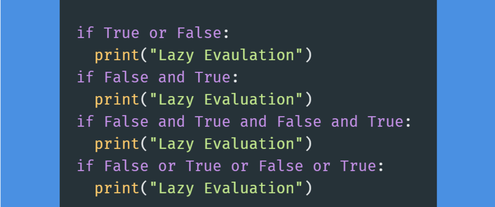 Cover image for #Day6 - Boolean Values and Lazy Evaluation