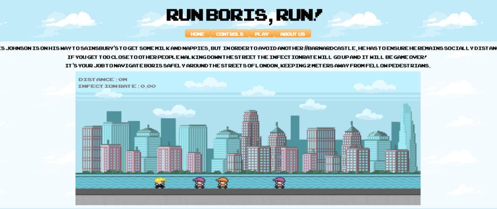 Cover image for Coding bootcamp final project: 'Run, Boris Run!' 🏃💨