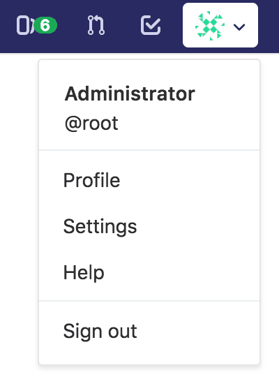 Gitlab : Go to Settings