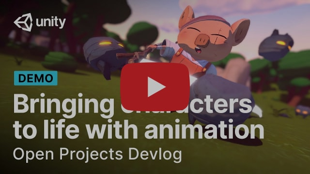 Bringing characters to life with animation