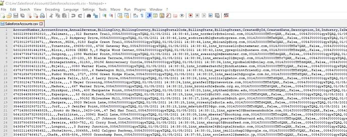 Resulting file screenshot.