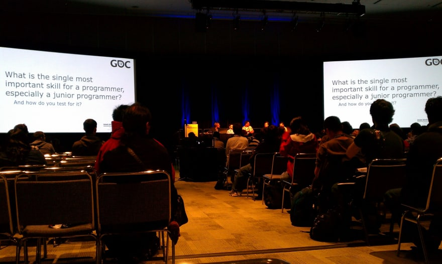 Where the journey all began. A talk at GDC for Junior Programmers