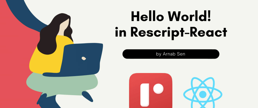 Cover image for Hello World! in Rescript-React
