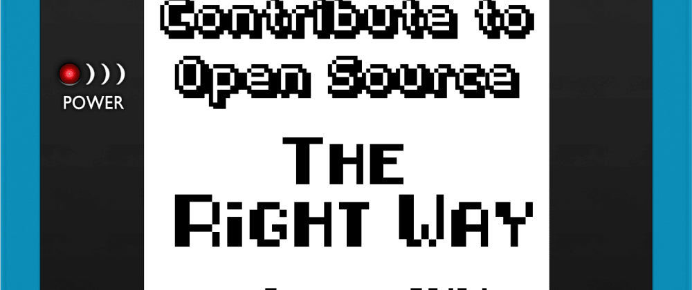 Cover image for Contribute to opensource: the right way – Download the book now!