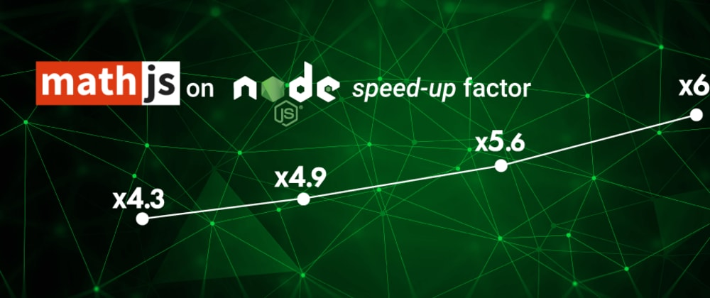 Cover image for How to speed up Node.js matrix computing with Math.js 🌠