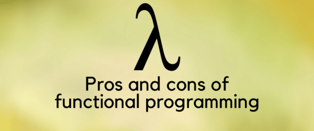 The state of Functional programming - cover
