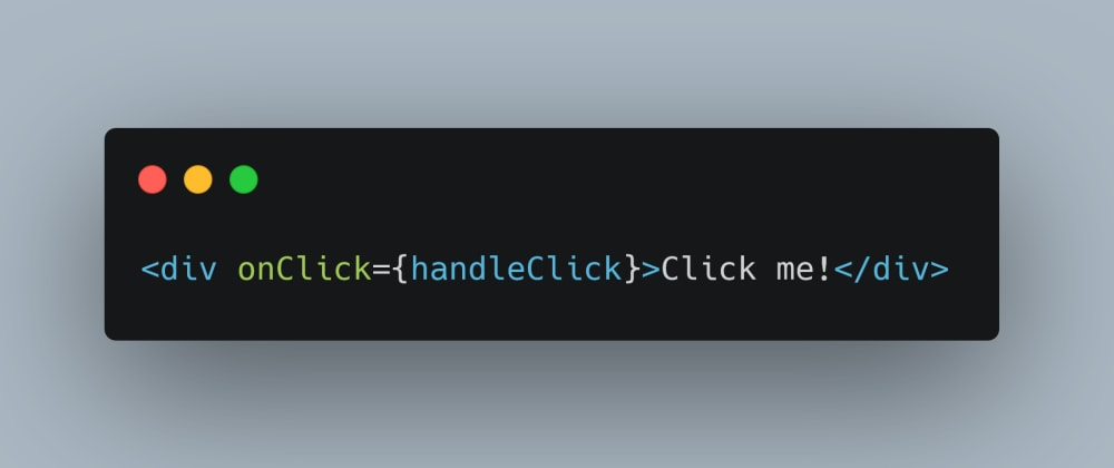Cover image for Easy Accessible Click Handlers