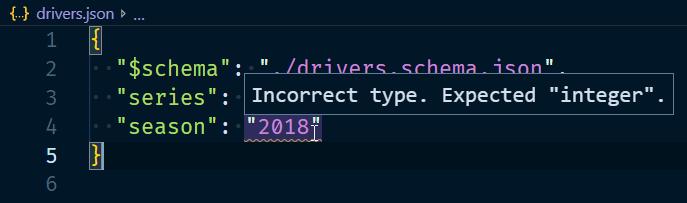 incorrect type error