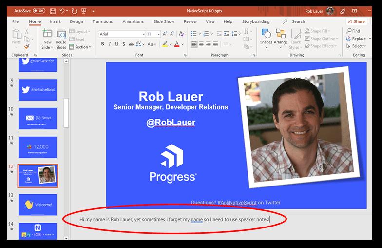 rob's speaker notes