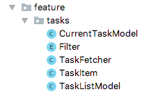 tasks feature main classes for the MVO implementation