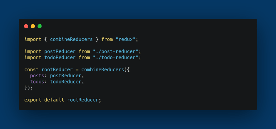 Reducers Export
