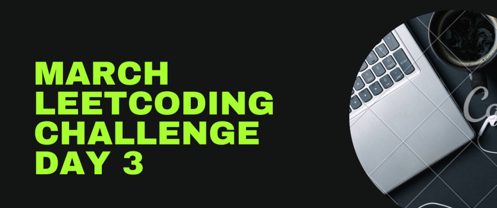 Cover image for March LeetCoding Challenge 2021 — Day 3: Missing Number