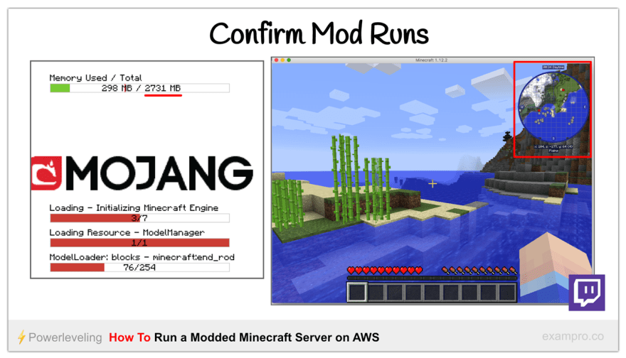How To Run A Modded Minecraft Server on AWS - DEV Community 👩 💻👨 💻