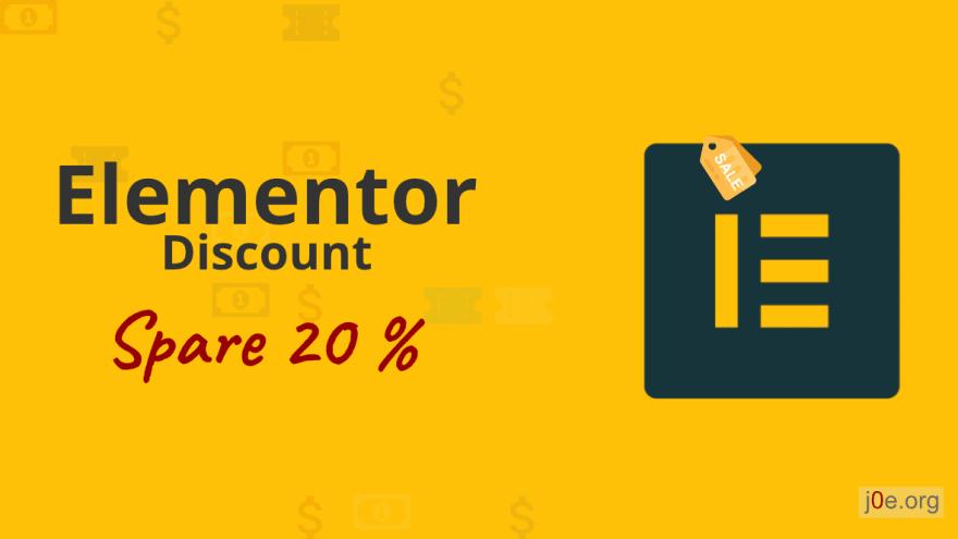 Elementor Discount Codes