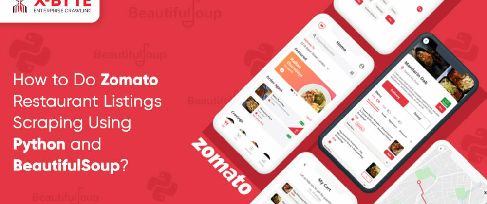 Cover image for How to Do Zomato Restaurant Listings Scraping Using Python and BeautifulSoup?