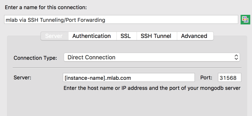 Connect to MongoDB from behind firewall via SSH Tunneling/Port