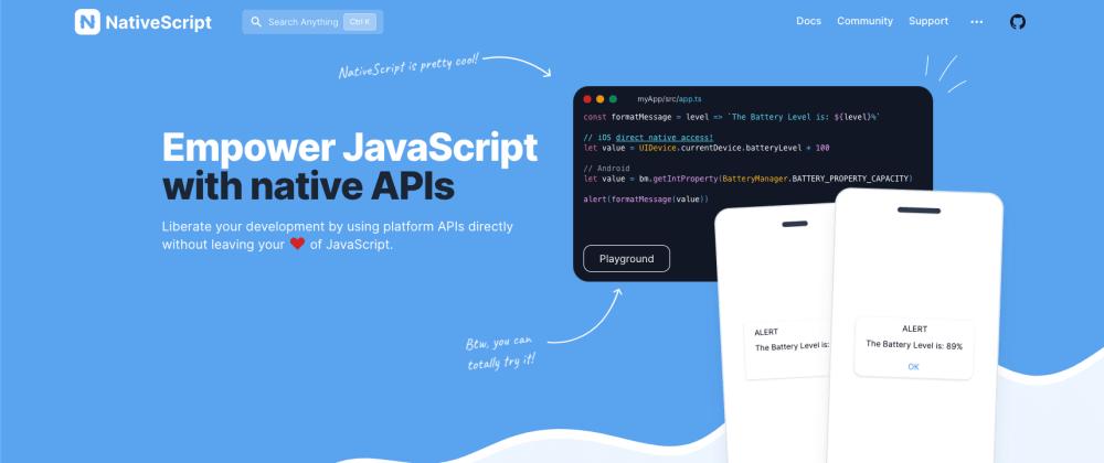 Cover image for Login screen for NativeScript App (NS-Vue)