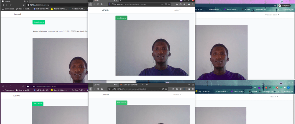 Cover image for Live stream with WebRTC in your Laravel application
