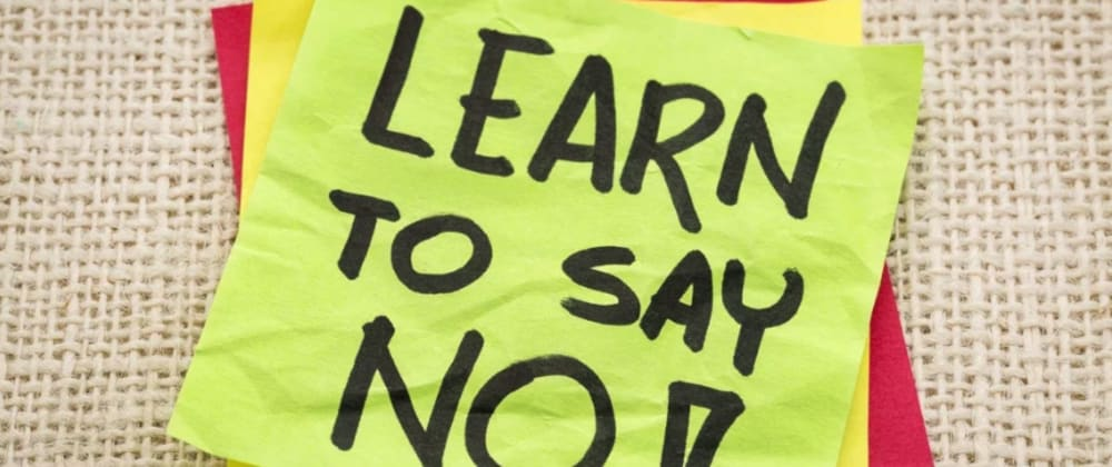 Cover image for 5 ways to say 'NO' to Clients
