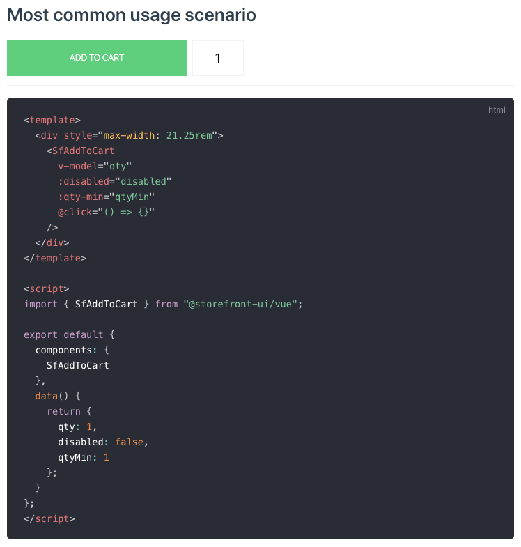 Result of a Rendered Component with Functional Vue Syntax