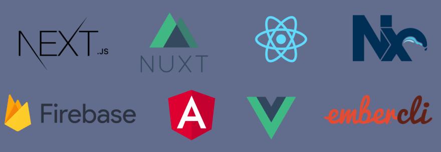 Logos of popular CLI tools
