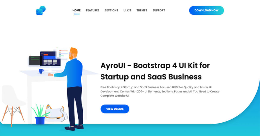 Free Bootstrap Templates for Business and Startup 2019 - DEV
