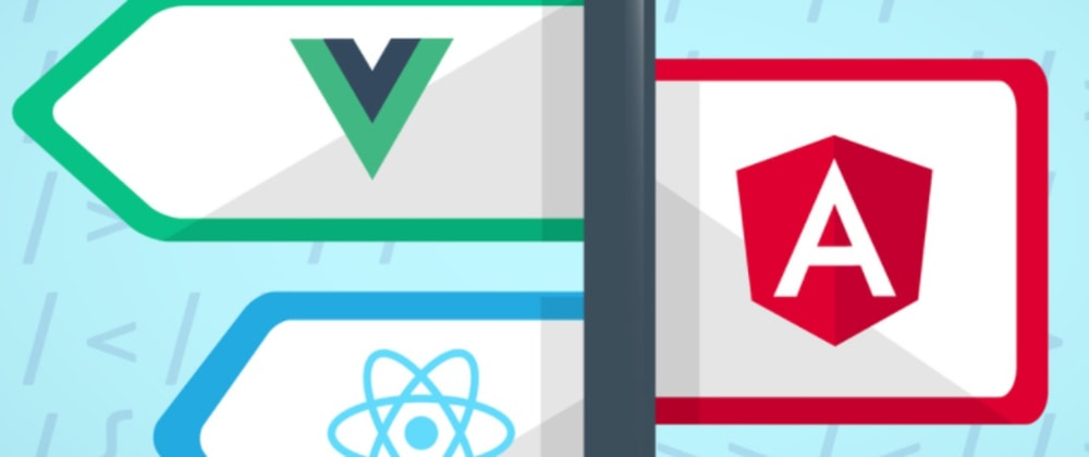 Cover image for The Great Debate: Angular, React, or Vue or is it?