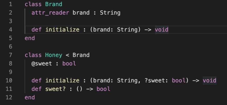 RBS syntax highlighting