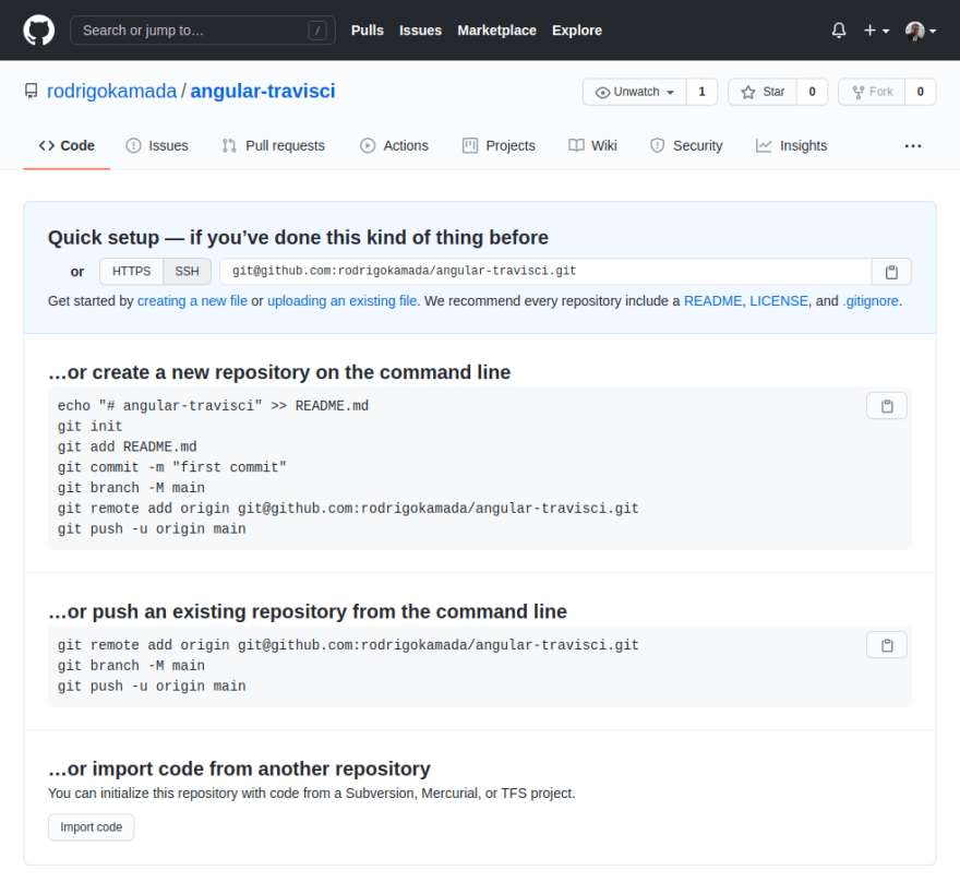 GitHub - Repository created
