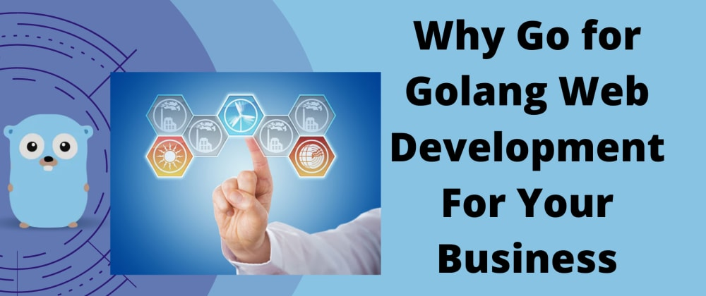 Cover image for Why Go For Golang Web Development For Your Next Business Application.