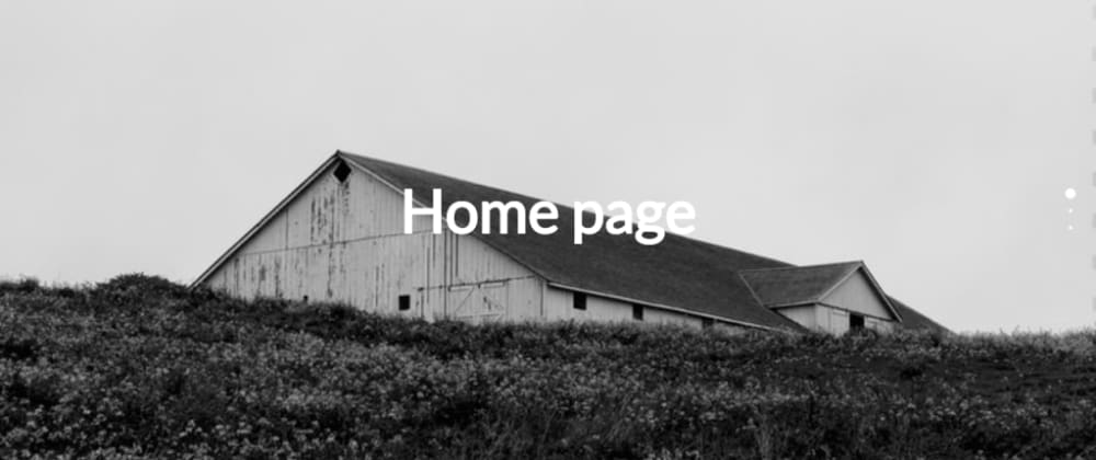 Cover image for Modern Landing Page Using Page.js