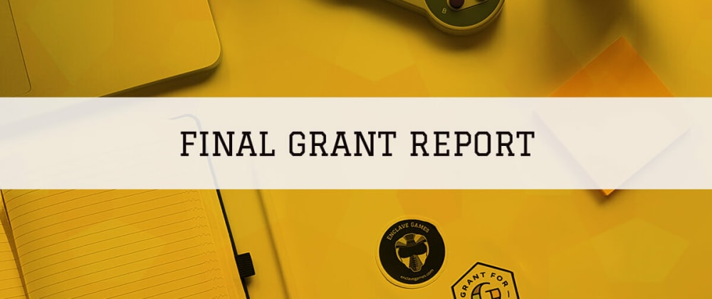 Cover image for Web Monetized HTML5 Game Development — final Grant report