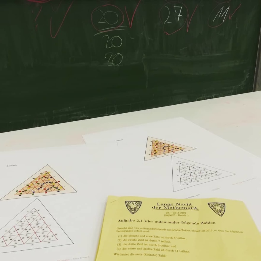 Lange Nacht der Mathematik