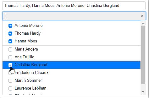 Checkbox Mode in Blazor MultiSelect Dropdown