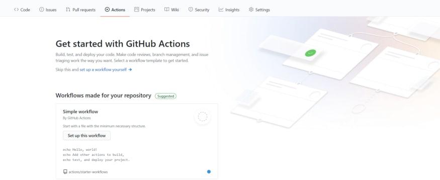 GitHub Actions Home
