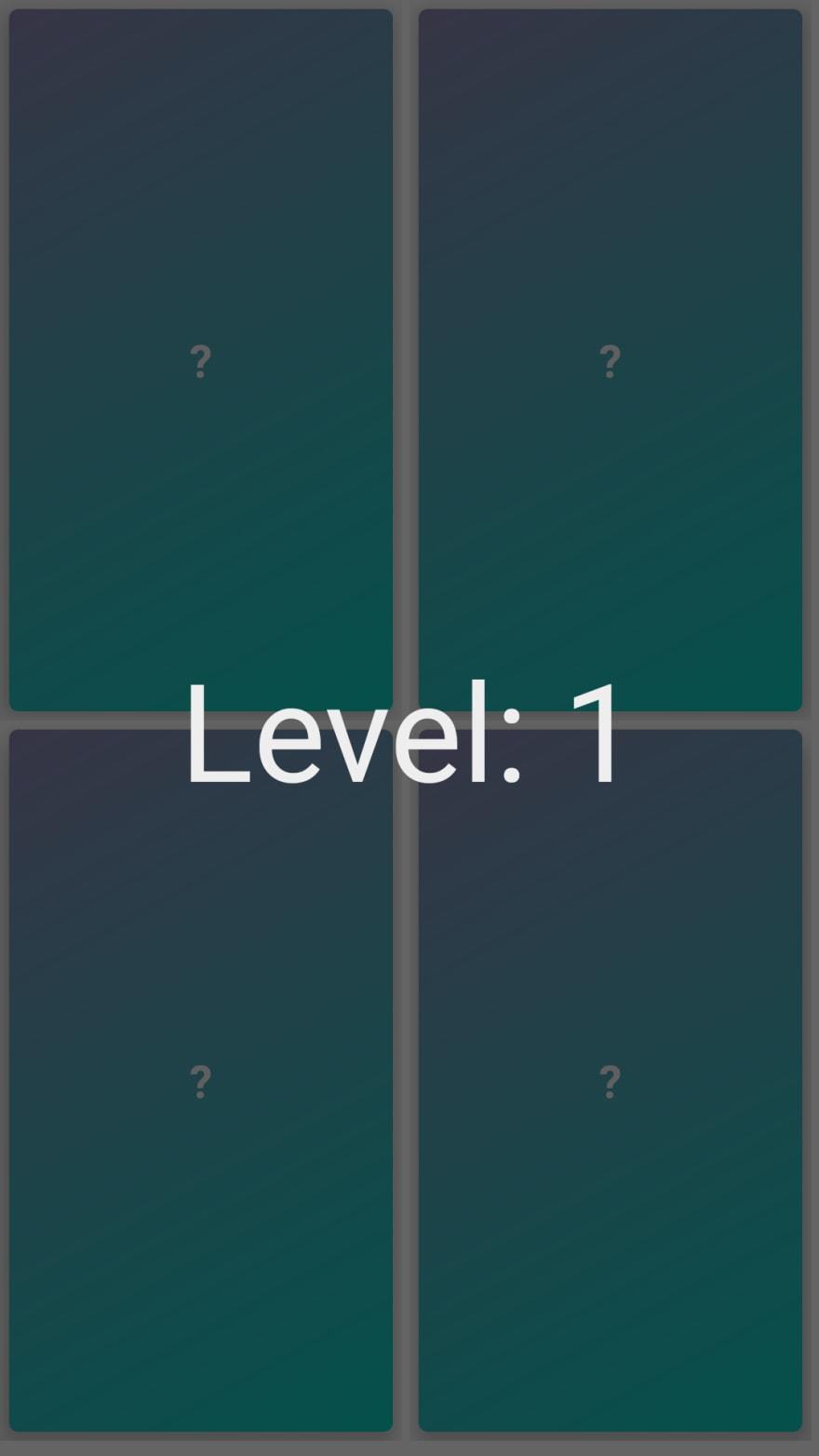 memorygame-level-1