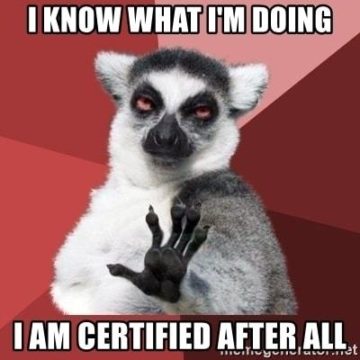 Certified Meme