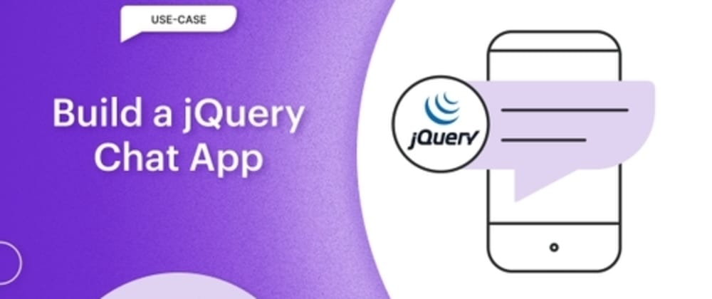 Cover image for Build a jQuery Chat App