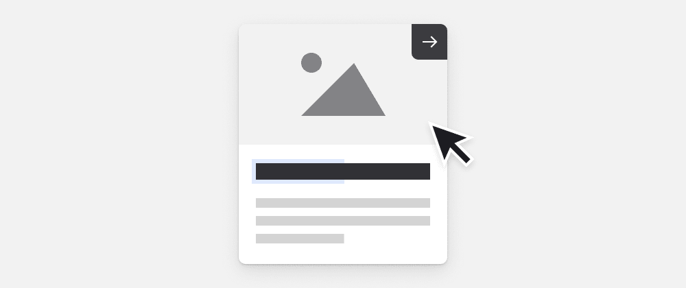 Cover image for Animated card component in HTML and CSS