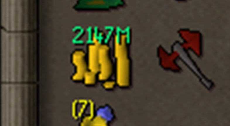 The max cash stack you can have in Runescape is 2147m, or 2.1 billion.