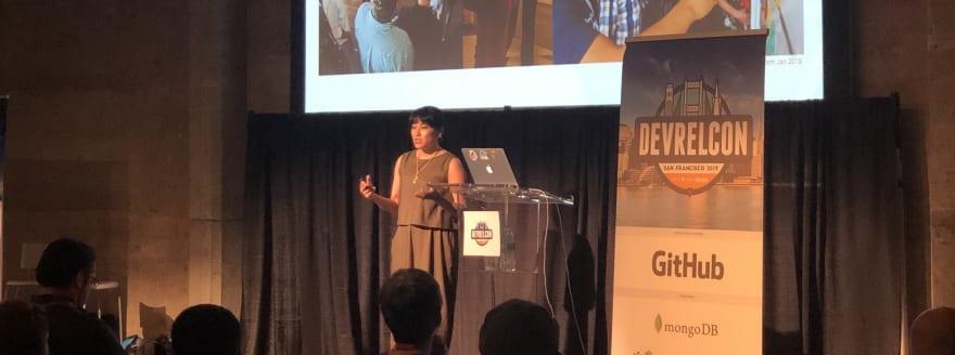 Dana speaking at DevRelCon San Francisco