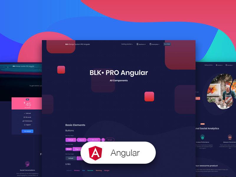 BLK Design System Pro Angular – Creative Tim