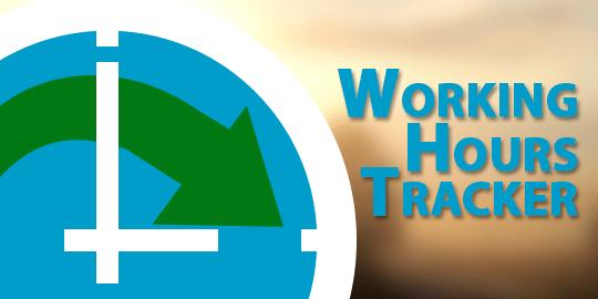Working Hours Tracker App logo