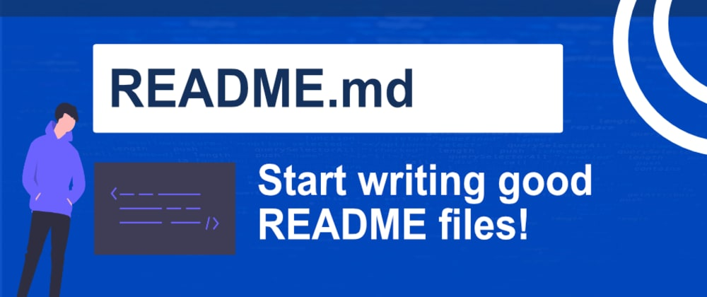 Cover image for Writing a High Quality README! 🔥