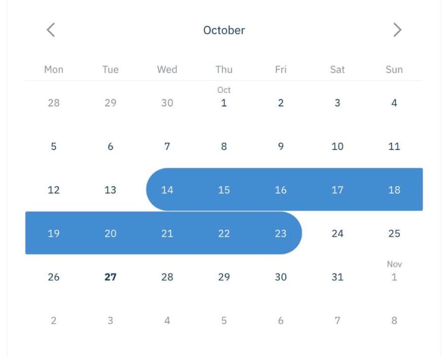 React Nice Dates
