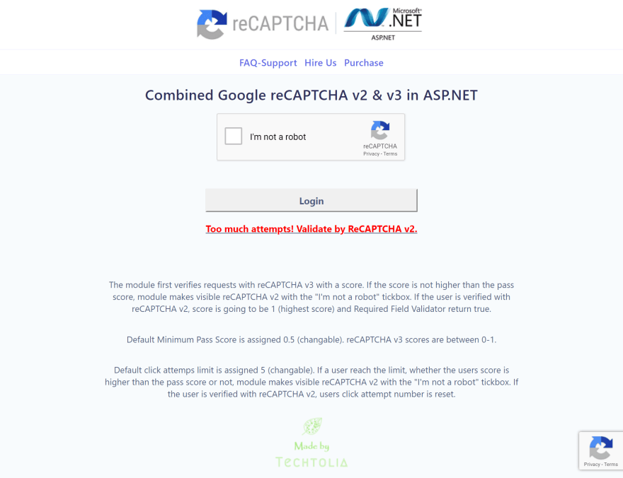 reCAPTCHA v2 & v3 in ASP.NET