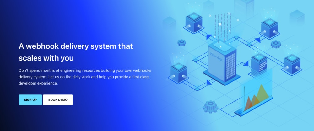 Cover image for A webhook delivery SaaS